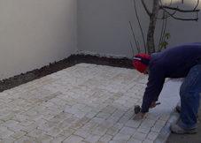 Rénovation d'un parvis - SORMA - Rénovation immobilière et maçonnerie ancienne