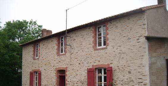 Rénovation d'un maison en vieilles pierres - SORMA - Rénovation immobilière et maçonnerie ancienne