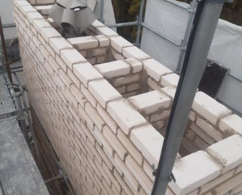 Restauration, reconstruction de Souches de Cheminée